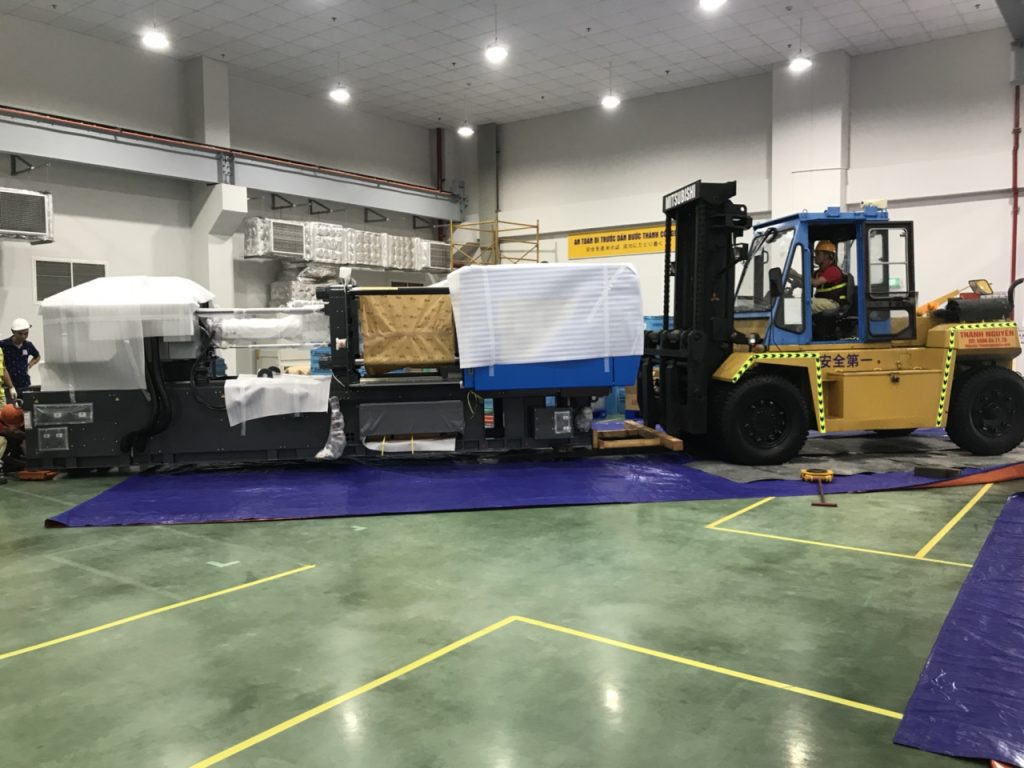 Construction of forklift for rent in Hai Phong Viet Nam 1